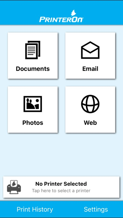 PrinterOn for MobileIron Скриншоты3