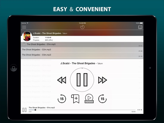 MP3 Audiobook Player Pro - listen audiobooks! Screenshots