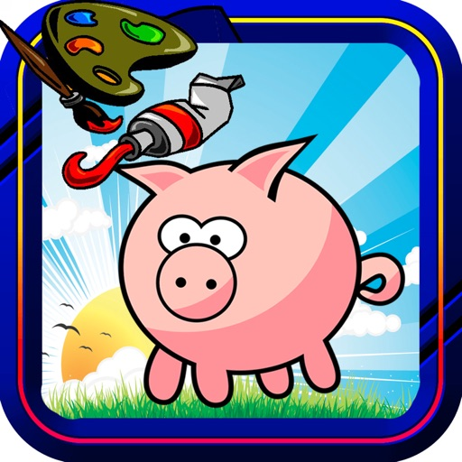 Animal Pics Coloring Best Version iOS App