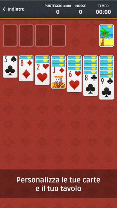 Screenshot of Solitario ∙2