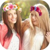 Filters Flower Crown for snapchat - Collage Maker