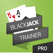 BlackJack Trainer Pro - Learn Basic Strategy 21
