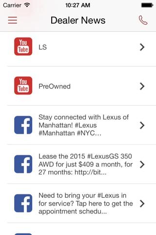 Lexus of Manhattan DealerApp screenshot 4