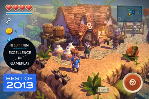 Oceanhorn ™ screenshot 1
