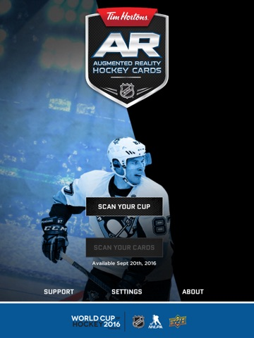 Tim Hortons AR Hockey Cards screenshot 1