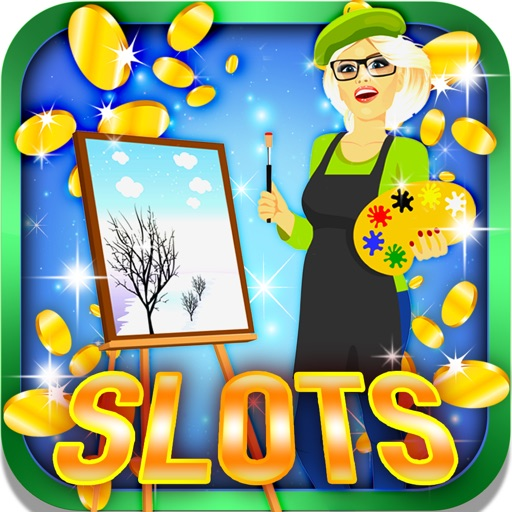 Super Artsy Slots: Lay a bet on the lucky painting Icon