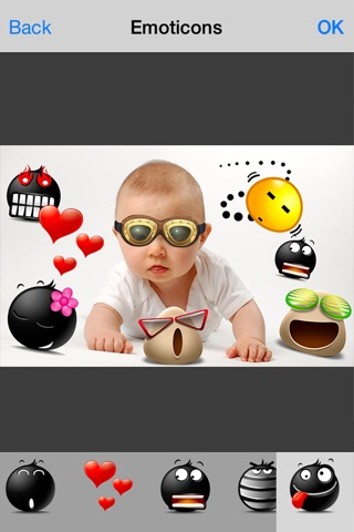 Cool Pic Camera - Emoji Photo Editor Frames User screenshot 4