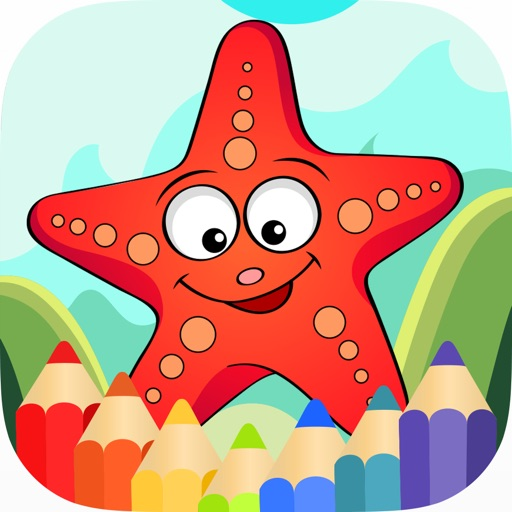 Animals Coloring Pages for Kids Boys & Girls iOS App