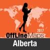 Alberta 離線地圖和旅行指南
