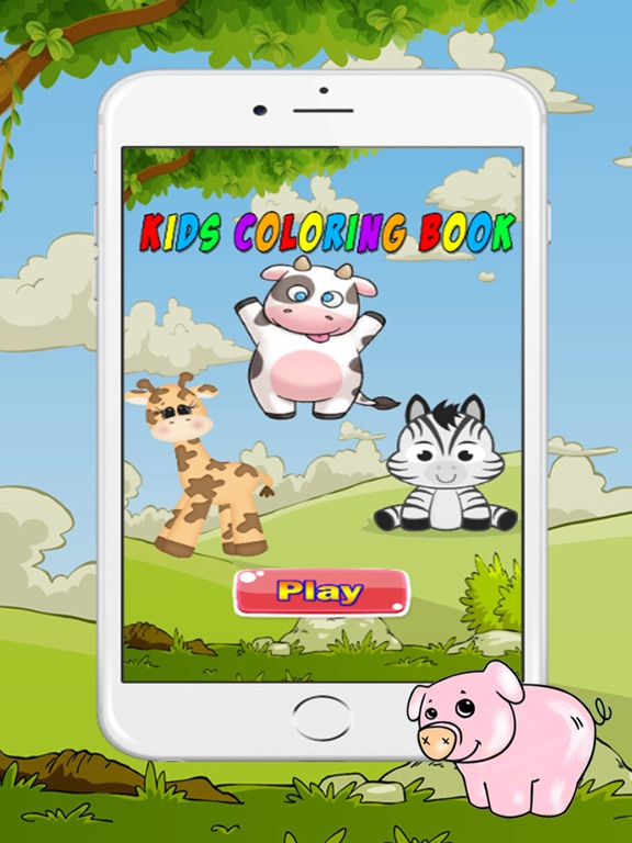 Coloring Book Cute Animals For Kids On The App Store