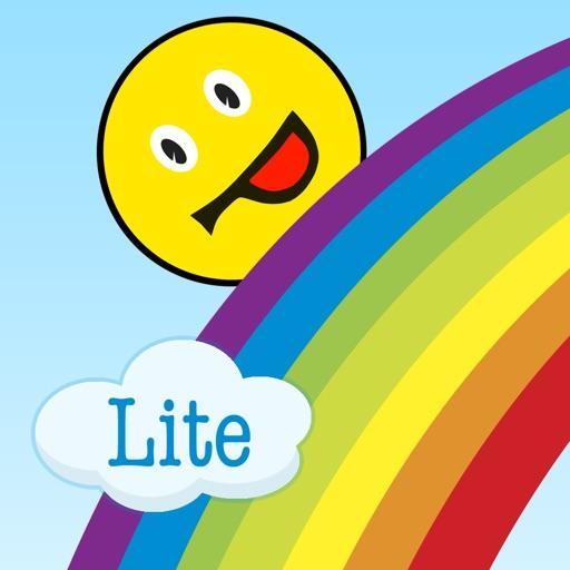 Child education: study rainbow colors iOS App