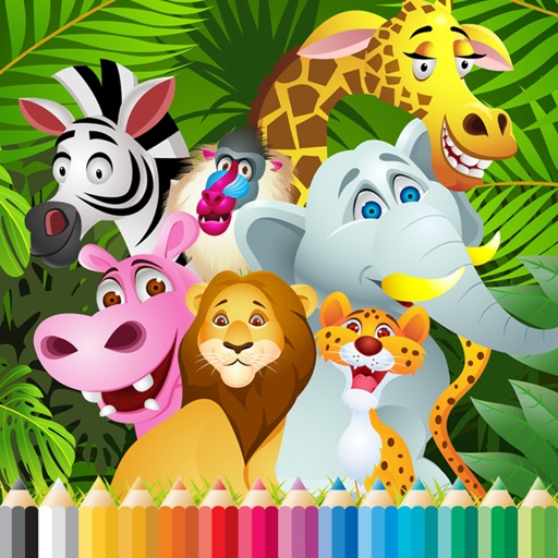 Total Animals Coloring Book - for Kid iOS App
