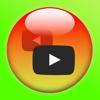 ミラーカメラ/ ミラー反転の動画再生(無料版)