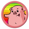 Free Pig Smile Coloring Page Game For Children