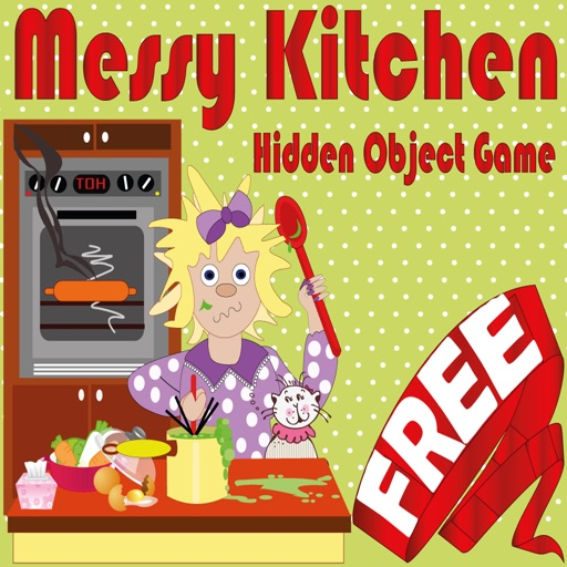 Hidden Object Game Messy Kitchen iOS App