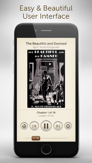Free Audiobooks - 4,728 classic audiobooks for less than a cup of coffee. Screenshot 1