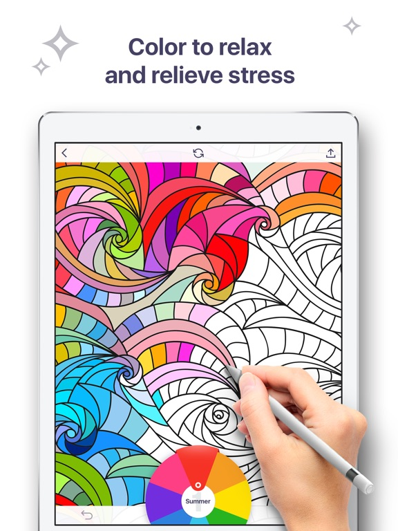 Coloring Book for Me Coloring pages for adults on the App Store