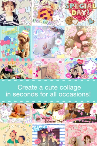 Hello Kitty Collage screenshot 2
