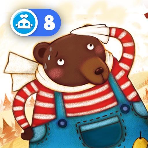 Tinman Arts-猪小弟学数学(分类篇)-大熊的储藏室【双语早教】