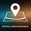 Central African Republic, Offline Auto GPS App