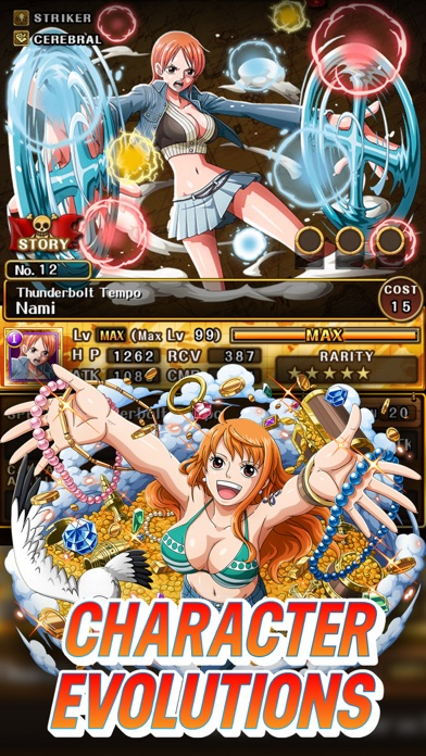 Screenshots of ONE PIECE TREASURE CRUISE for iPhone