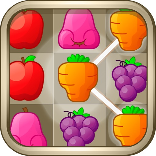 Fruits Connect - Fruits Link Best Match3 Puzzle iOS App