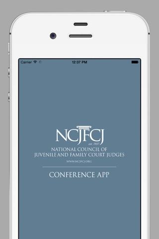 NCJFCJ Conferences screenshot 1