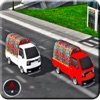 City Van 3d Drive Racing Mania