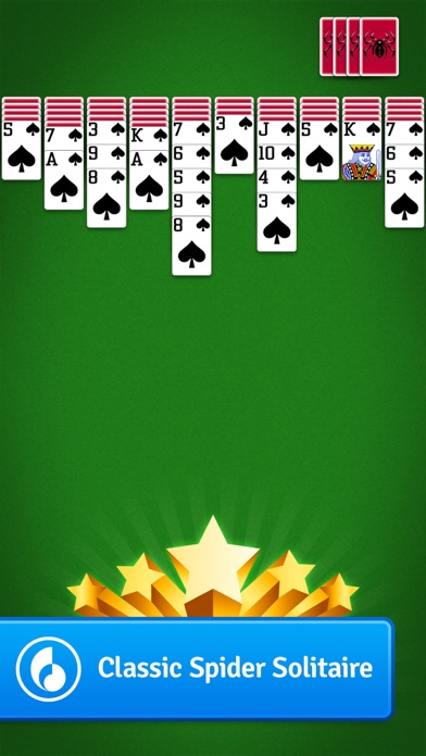 Spider Solitaire by MobilityWare Screenshot