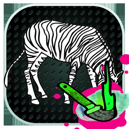 Zebra Coloring Game For Kid iOS App