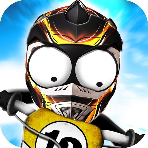 火柴人坡道飙车-摩托车:Stickman Downhill – Motocross