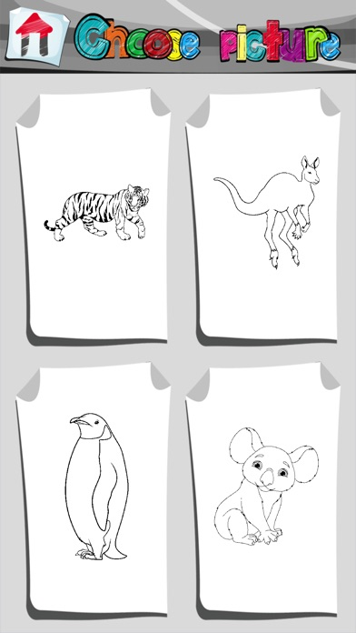 Zoo Animals Coloring Book On The App Store
