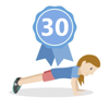 Reto 30 días de planchas