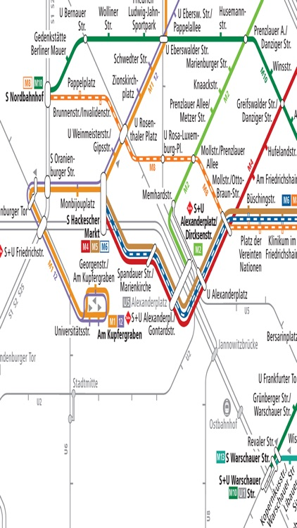 Berlin Subway U Bahn Metro S Bahn Train Bus Maps By Janice Ong - Berlin us bahn map
