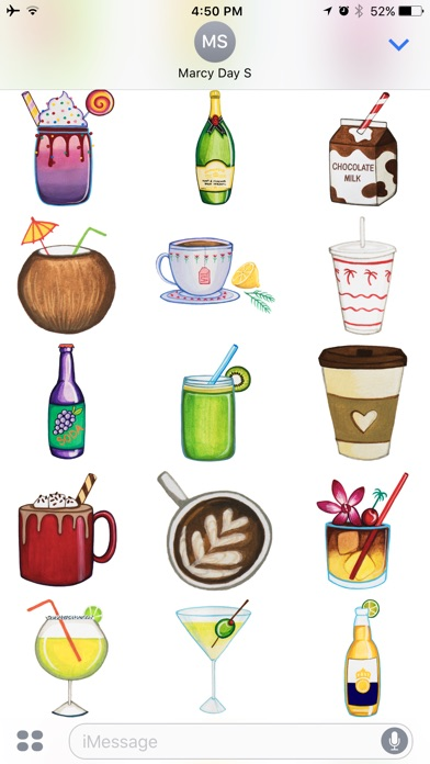 T l charger drinks by marcymoji pour iphone ipad sur l for Application miroir pour iphone
