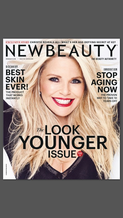Newbeauty Magazine review screenshots