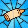 스테인드글라스 색칠놀이 책 앱 아이콘 이미지