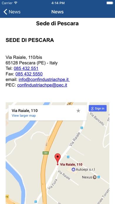 Screenshot of Confindustria Chieti Pescara4