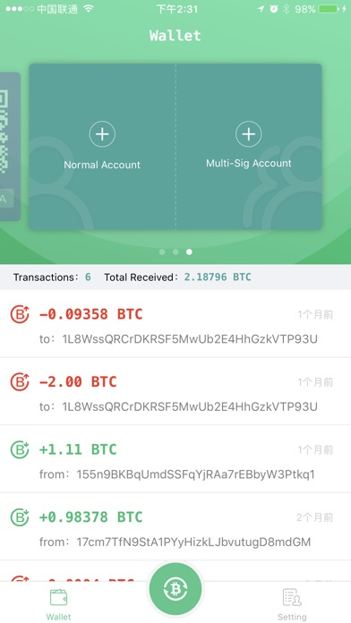 chance bitcoin wallet on the app store. Black Bedroom Furniture Sets. Home Design Ideas