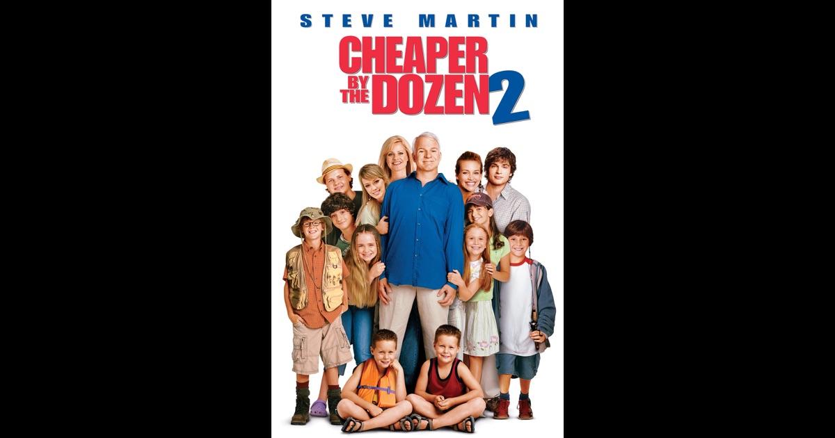 Cheaper By the Dozen 2 on iTunes