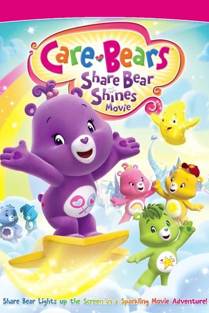 care bears share bear shines movie on itunes