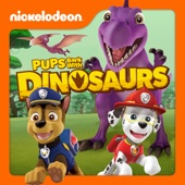 PAW Patrol, Pups Bark with Dinosaurs - PAW Patrol Cover Art