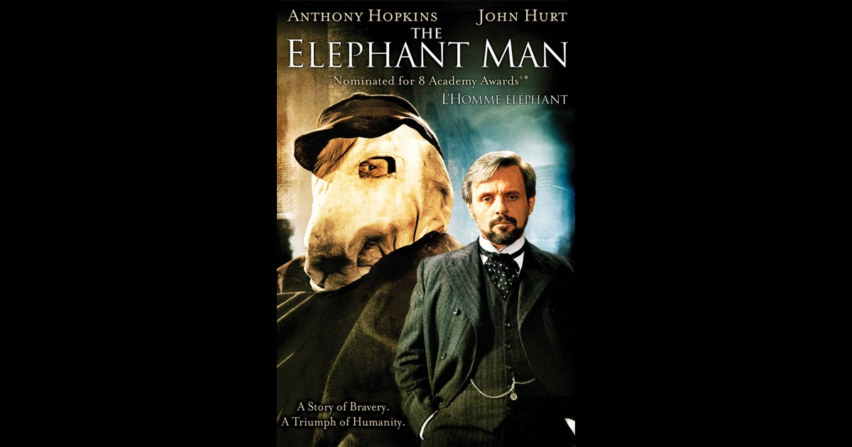 film review of the elephant man